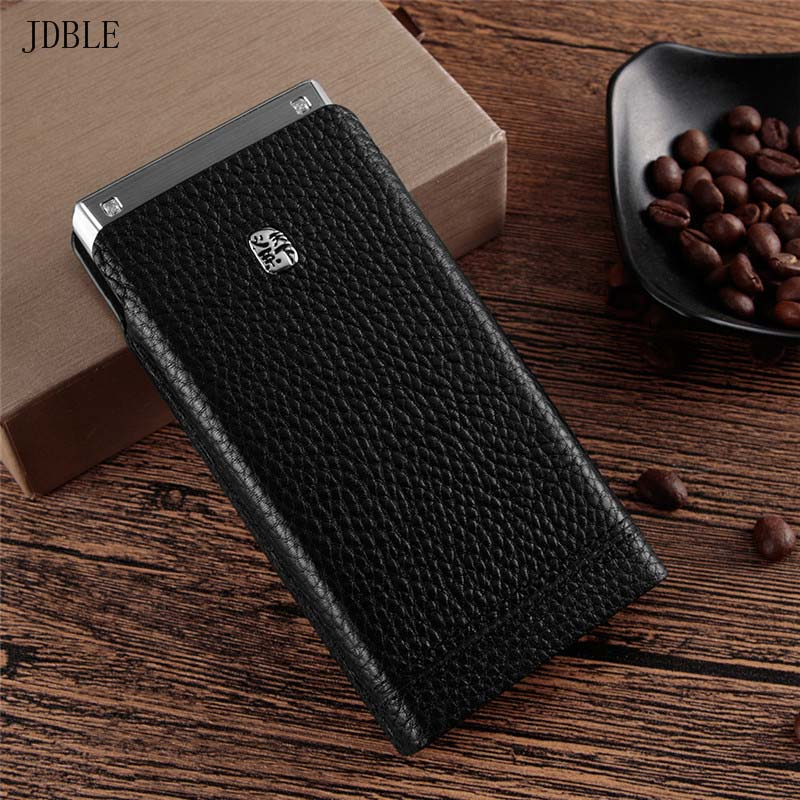 Luxury Function Mobile Phone Bag Case For Samsung W2019 Ultra Thin Genuine Cow Leather Cover For Samsung W2018 Coque Case KS0164