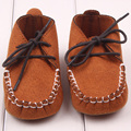 Soft Baby Shoes Newborn Boy Girl Crib Shoes Toddler Lace Up Loafer Pre walker Shoes S2