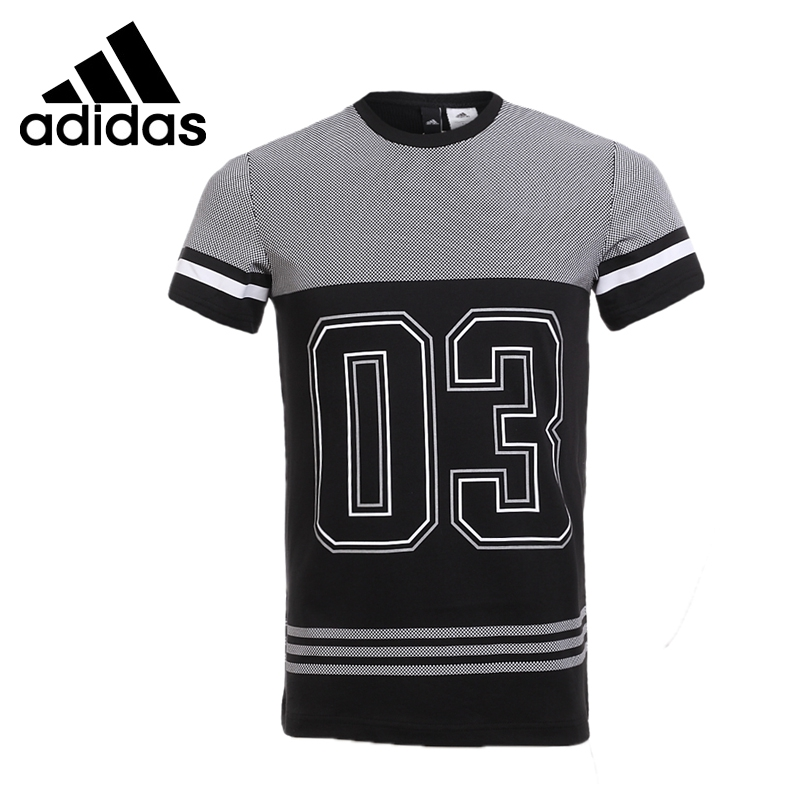 Original New Arrival  Adidas GFX TEE 3S NO3 Men's T-shirts short sleeve Sportswear