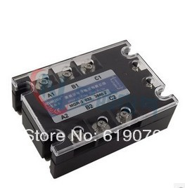 Three-phase solid state relay DC -AC  MRSSR-3 MGR-3 032 38200Z 200A free shipping 1pc high quality 80a mager ssr mgr 3 032 3880z dc ac three phase solid state relay dc control ac 80a 380v