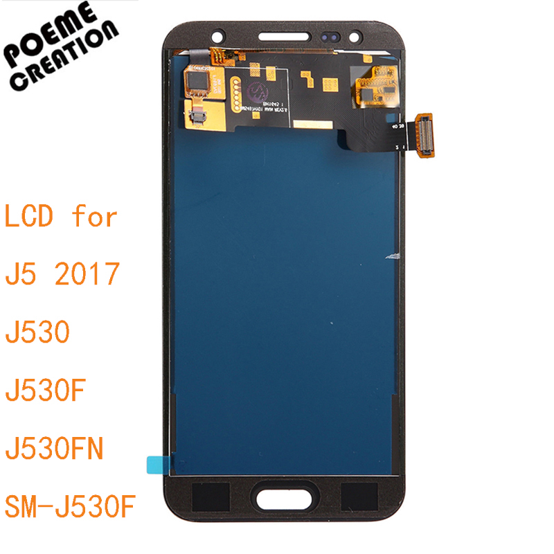 Brightness 5.2'' Replacemen For SAMSUNG GALAXY J5 2017 LCD J530 SM-J530F LCD Display Touch Screen Digitizer Assembly
