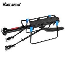 Велосипедный багажник WEST BIKING MTB, алюминиевые велосипедные грузовые стойки для 20 29 дюймов, полка, велосипедный Подседельный штырь, держатель, подставка