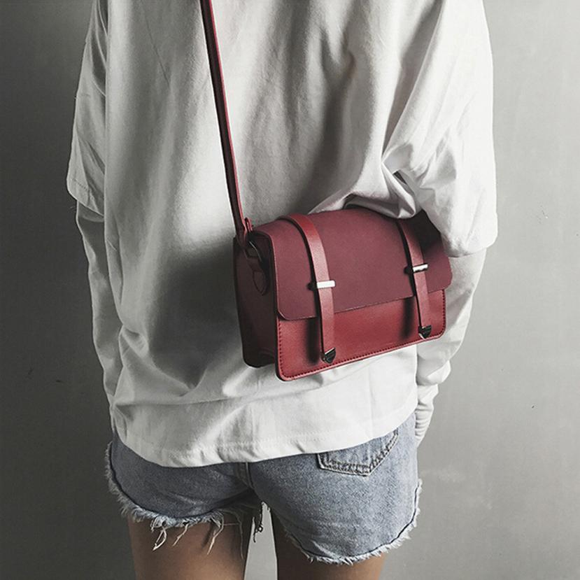 Molave Shoulder Bag new high quality Leather Fashion Scrub Flap Pocket Crossbody Coin Phone Bag shoulder bag women FEB27