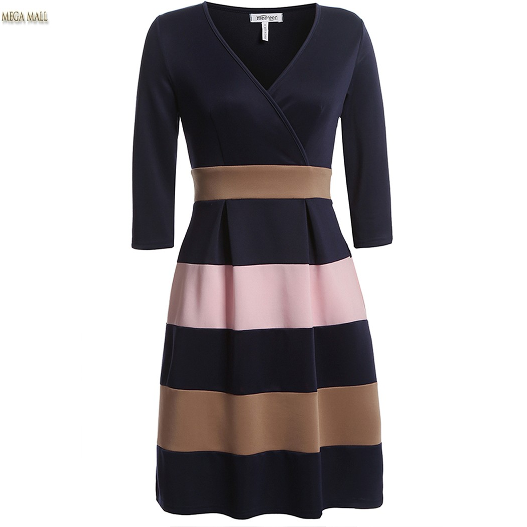 New Winter Dress Women 2016 Ladies Woman Casual Sexy V ...