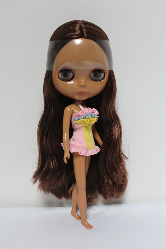 Free Shipping Top discount 4 COLORS BIG EYES DIY Nude Blyth Doll item NO. 136 Doll limited gift special price cheap offer toy