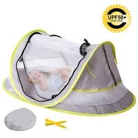 Baby Mosquito Net New UV50+ Baby Bedding Crib Netting Folding anti mosquito child crib foldable beach game ventilation Baby Care