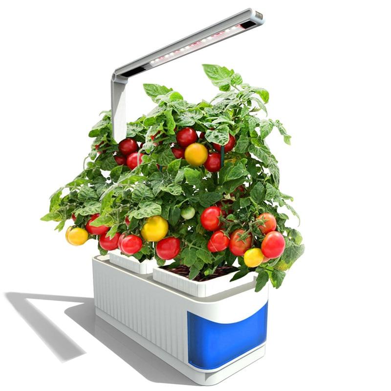 CLAITE светодио дный светодиодные лампы для роста растений крытый полный спектр завод лампа травы гидропоники растения сад комплект лампа Рег...