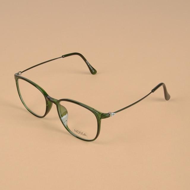 3f5d090f987 Quality Ultralight TR90 Glasses Frame Clear Lens Female And Male Elegant  Eyewear Brand Designer Women Men