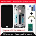 Qualidade AAA! lcd original + novo quadro para meizu mx4 pro lcd screen display substituição para meizu mx4 pro assembléia digiziter