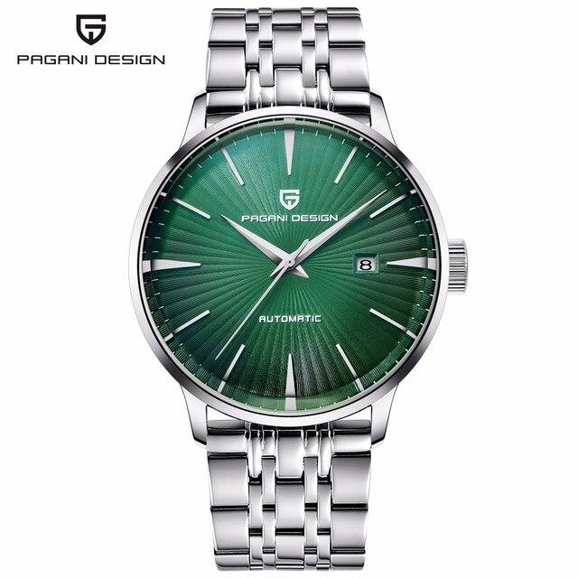 21d6290a941 PROJETO PAGANI Mens Relógios Mecânicos 2018 Top Marca de Luxo Homens  Automáticos Do Relógio de Pulso