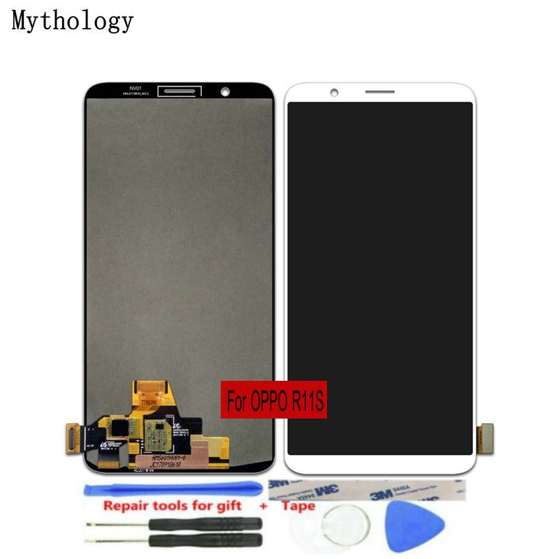 "For OPPO R11s LCDs Touch Screen 6.01""Display Assembly Replacement Mobile Phone Panels Repair Tools Mythology(China)"