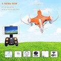 Mini RC Drone com Câmera WI-FI 2.4G 6 Axis Gyro Micro Quadcopter 4CH Zangão Headless Modo Remoto ControlToys dron RTF Nova Moda