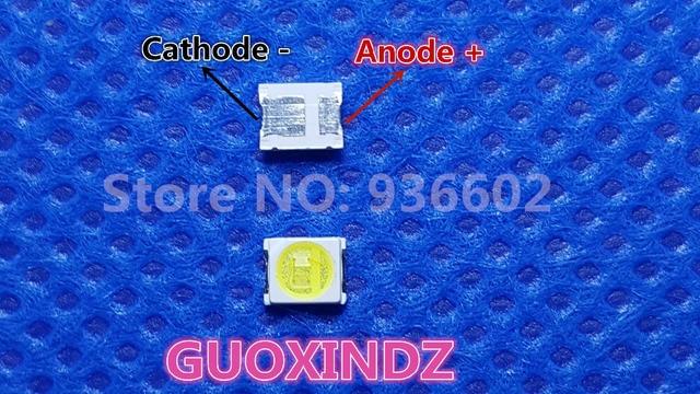 JUFEI  LED  Backlight   1210 3528 2835  1W  6V  96LM  Cool white  LCD Backlight for TV   TV Application  01.JT.2835BPWS2 C