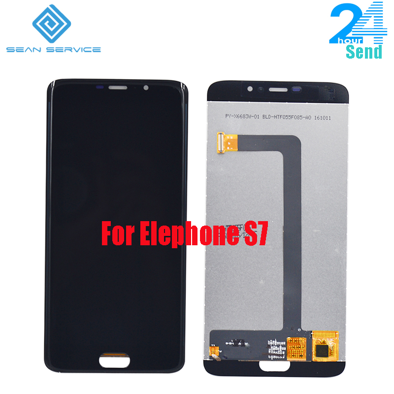 For Original Elephone S7 LCD in Mobile phone LCD Display+Touch Screen Digitizer Assembly lcds +Tools 5.5 1920x1080P stock