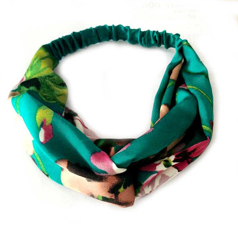 טוויסט טורבן בגימור לנשים קיץ ספורט Hairbands ראש להקת יוגה כיסוי ראש Headwear ילדה שיער סטיילינג כלי אביזרי
