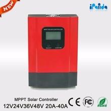 Intelligente 60A MPPT 12 V 24 V 36 V 48 V Solarladeregler mit APP/Software