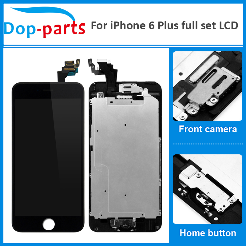 LCD Lcd-Display Touch-Screen IPhone Digitizer-Assembly-Replacement Front-Camera 6-Plus