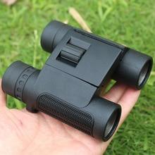 Buy 8×25 Black Low Light Binoculars for Hunting Camping Fold Compact High-power HD Infrared Telescope Outdoor Hiking Binoculars