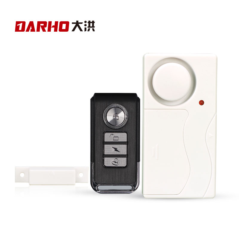 DARHO Home Security Door Window Siren Magnetic Sensor Alarm Warning System Wireless Remote Control Door Detector Burglar Alarm multi colored decorative bike car wheel tire valve caps light green 3 x ag10
