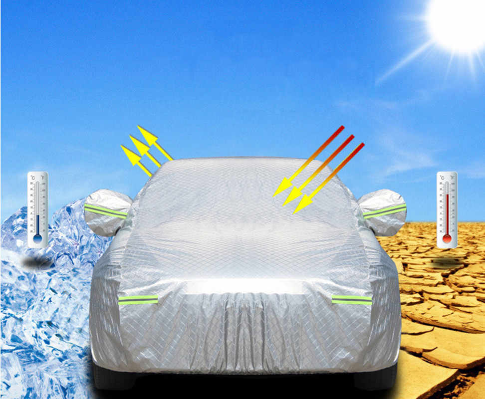 Car Covers snow Dust Protection car cover sun shade hood full cover for benz mercedes c180 c200 gl x164 ml w164 ml320 w163 w461
