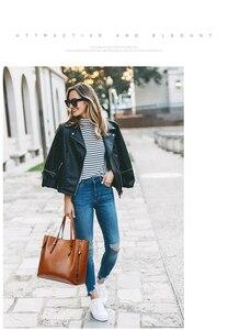 Image 5 - חדש אופנה יוקרה תיק נשים נשים גדול תיק נשי דלי כתף שקיות גברת עור שליח תיק קניות תיק
