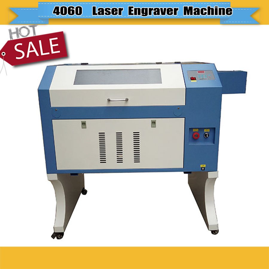 Co2 Laser Engraver Honey Comb Work Table 600*400mm  USB Interface Laser Engraving And Cutting Machine Free Shipping