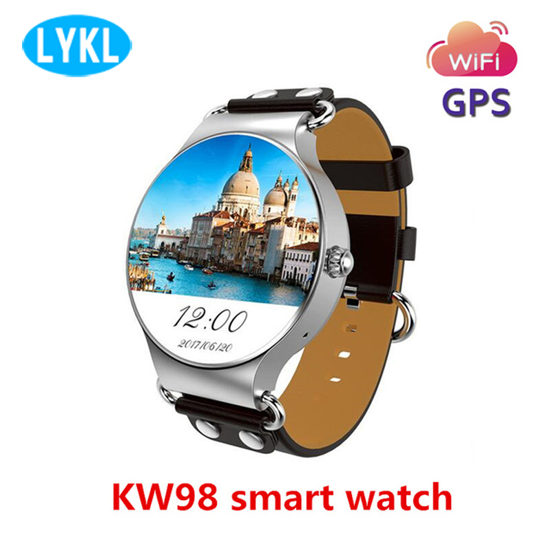 2018 New KW98 3G SIM Card Android Smart watch 8GB GPS Wristwatch Phone MTK6580 Quad Core 1.39 inch Heart Rate Monitor Pedometer2018 New KW98 3G SIM Card Android Smart watch 8GB GPS Wristwatch Phone MTK6580 Quad Core 1.39 inch Heart Rate Monitor Pedometer