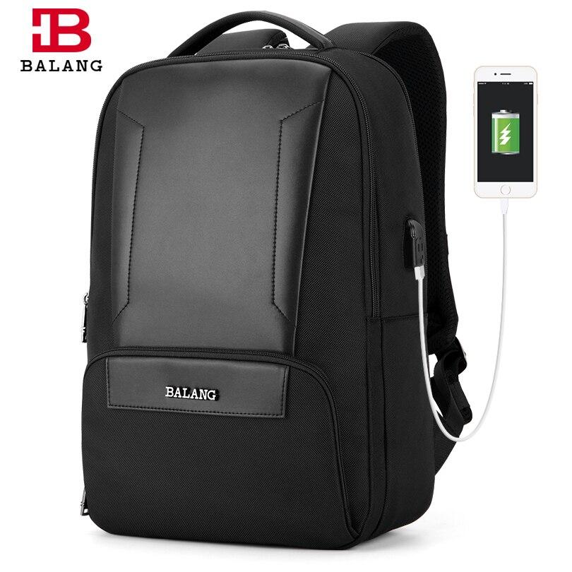 2019 Balang ใหม่คุณภาพสูงแล็ปท็อปกระเป๋าเป้สะพายหลังแฟชั่นโรงเรียนกระเป๋าสำหรับสาวกระเป๋าเดินทางกันน้ำกระเป๋าเป้สะพายหลังกระเป๋าเป้สะพายหลัง-ใน กระเป๋าเป้ จาก สัมภาระและกระเป๋า บน   1