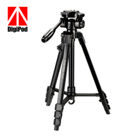 DIGIPOD TR 462F New Design 4 Sections 57inch Fashion Aluminum Stand Camera Accessories Tripod For Indoor Shooting