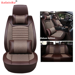 Image 3 - kalaisike Universal Car Seat Covers for Citroen all models c4 c5 c3 C6 Elysee Xsara C Quatre Picasso auto styling accessories