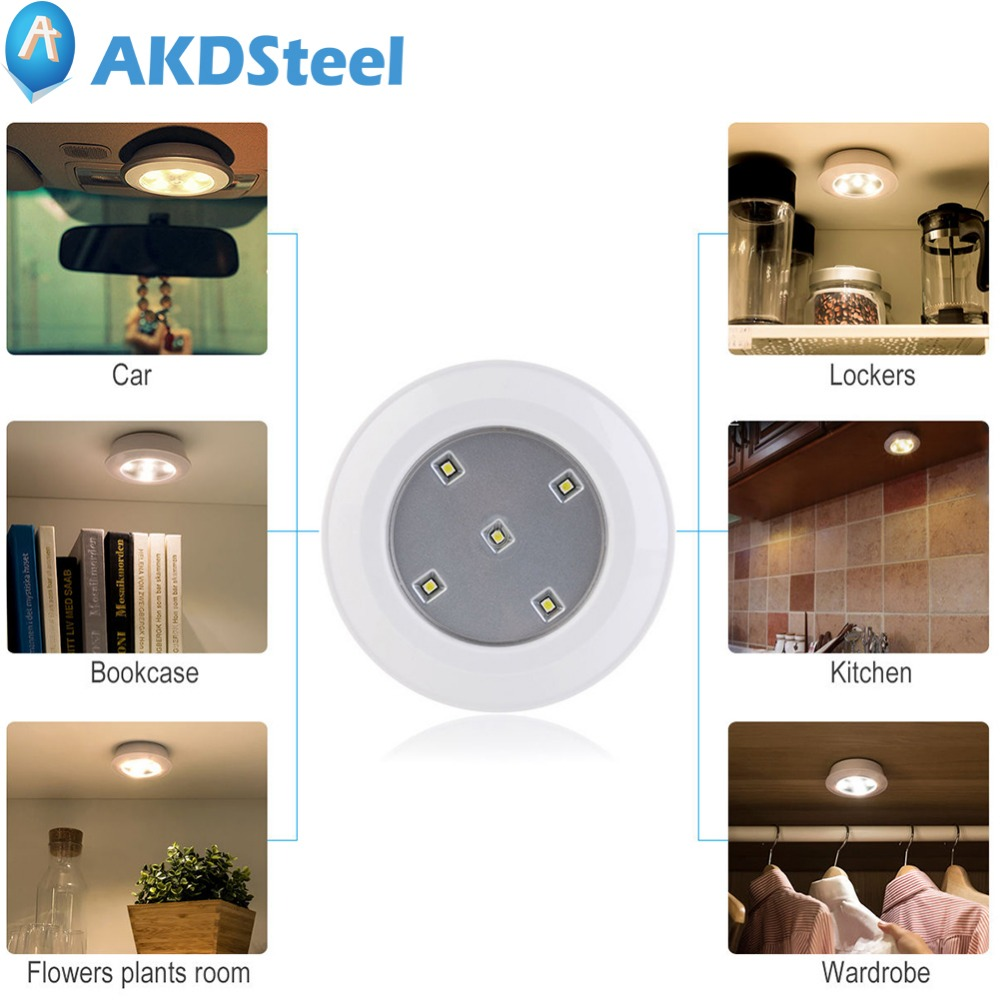 AKDSteel LED Remote Control Touch Light Wireless Kitchen ...