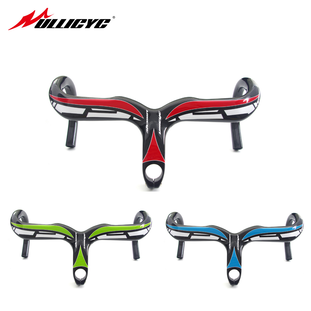 SALE HOT New arrival  Ullicyc one piece top full carbon fiber handle one piece sports car 28.6mm 90/100/110*400/420/440mm  YT418 top 2017 hot sale 100