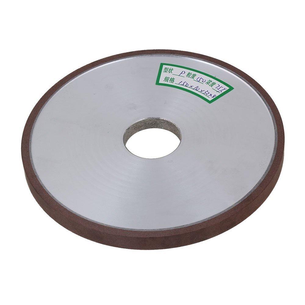 150x10x32 мм Плоский Диск Прямо Серебристый Алюминий Алмаза Смолы Шлифовальный Станок Шлифовального Круга с 150 # Грит