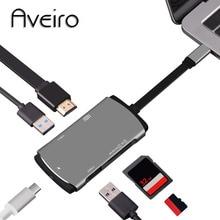 Aveiro USB HUB C to HDMI Thunderbolt 3 Adapter Type 3.0
