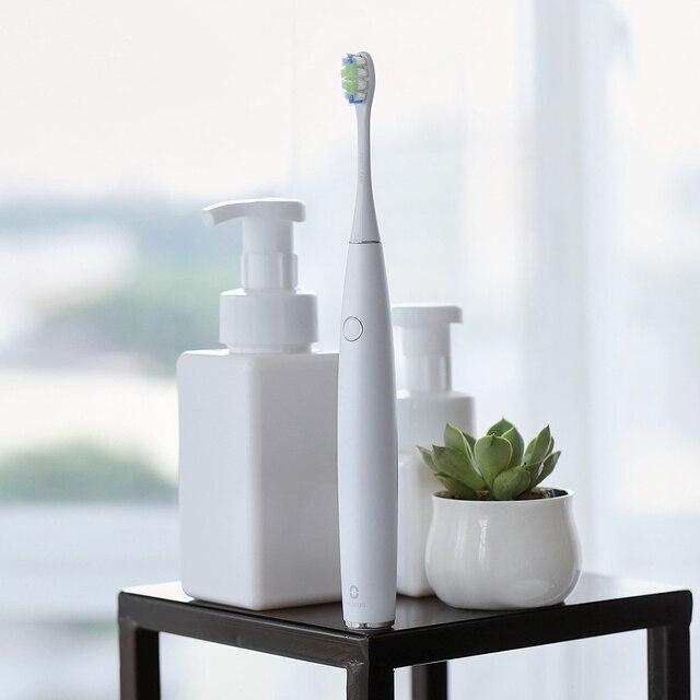 أوكلين واحد قابلة للشحن التلقائي سونيك فرشاة الأسنان الكهربائية APP التحكم الذكي الأسنان الرعاية الصحية الكبار فرشاة أسنان فائقة