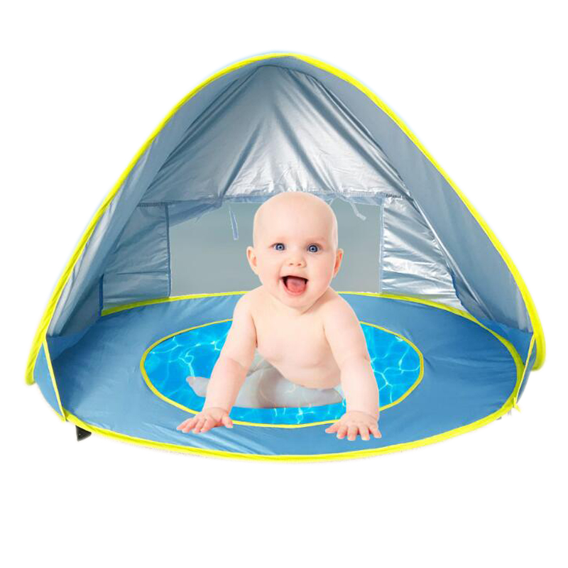 2018 New Kids Beach Tent Outdoor Toys Anti-UV Baby Pool Tent Play House Folding Pop-up Tent Summer Creative Educational Toys  sc 1 st  AliExpress.com & 2018 New Kids Beach Tent Outdoor Toys Anti UV Baby Pool Tent Play ...