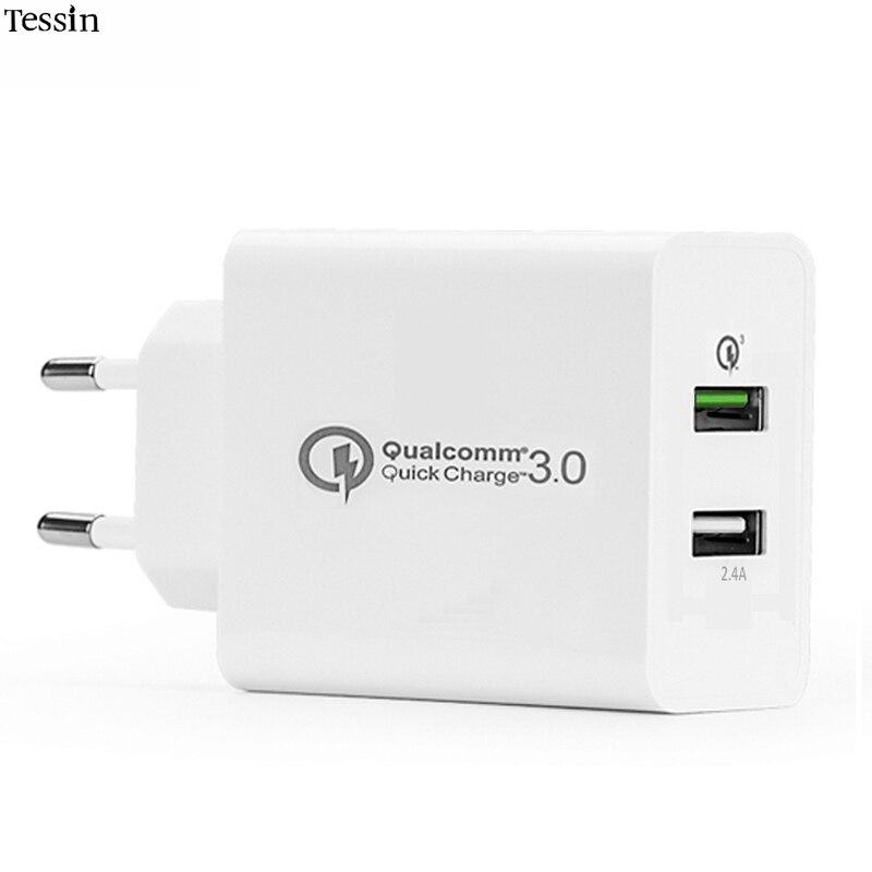 INGMAYA 2 Qualcomm Cepat Mengisi Charger USB 3.0 30 W 2.4A Untuk - Aksesori dan suku cadang ponsel - Foto 1