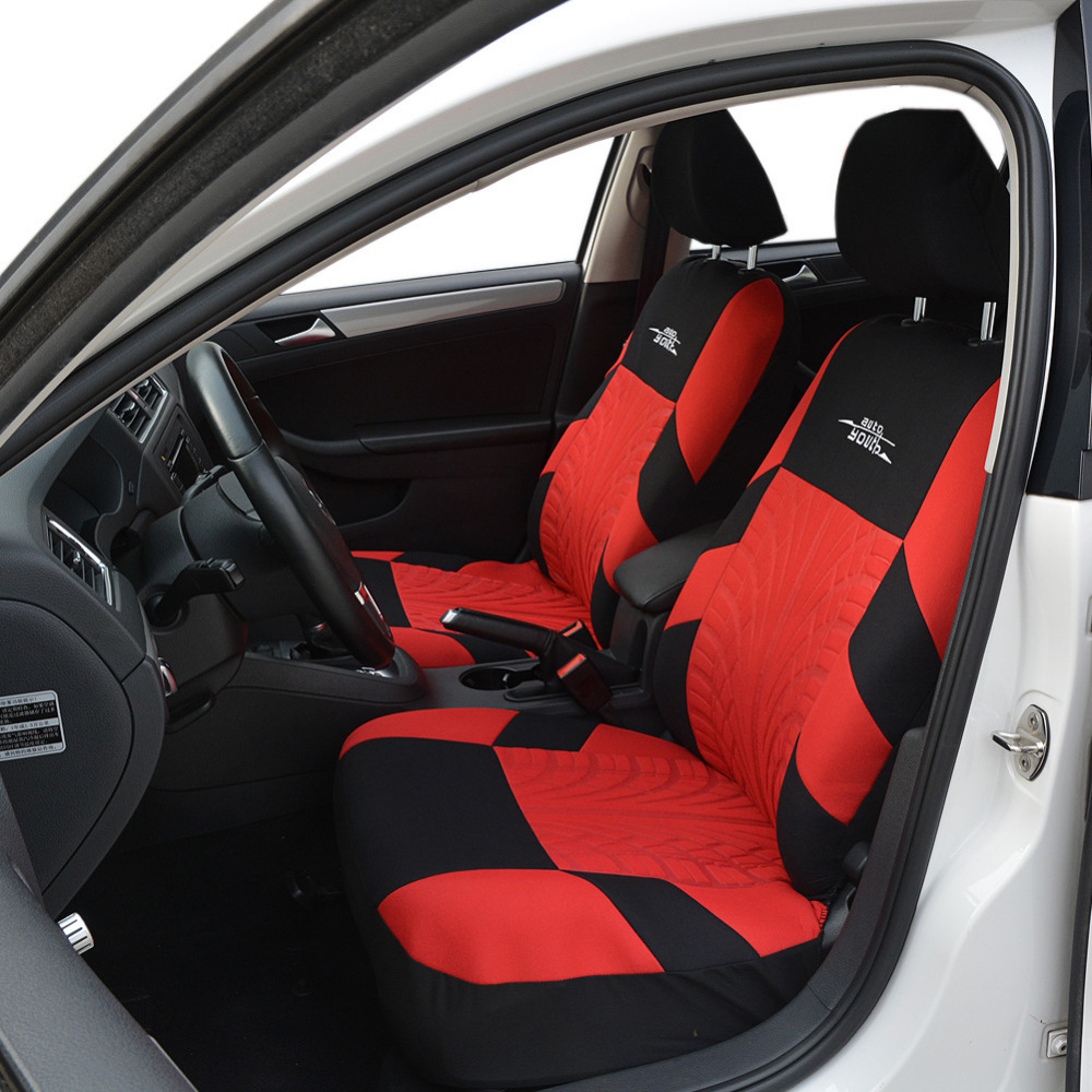 Image 3 - AUTOYOUTH Fashion Tire Track Detail Style Universal Car Seat Covers Fits Most Brand Vehicle Seat Cover Car Seat Protector 4color-in Automobiles Seat Covers from Automobiles & Motorcycles