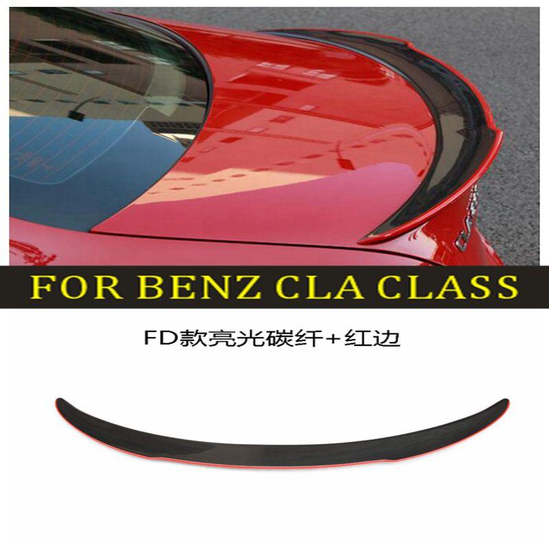 For Mercedes Benz CLA Spoiler Carbon Fiber Rear Spoiler cla 200 250 260 2013 2014 2015 2016