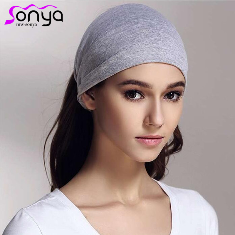 Leopard Striped Cotton Stirnband für Frauen Elastic Print Knottd Stretch Haarschmuck Winter Casual Turban HA072