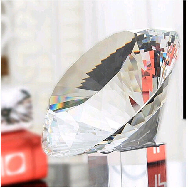 Various Specifications 10pcs 70mm Multi-Faceted Crystal Glass Diamonds Confetti Wedding Bridal Party Decoration Vase Filler