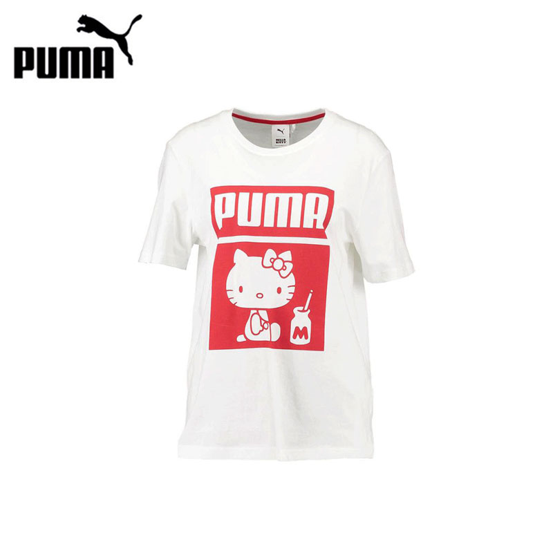 Original New Arrival Authentic PUMA Womens T-shirts short sleeve Sportswear