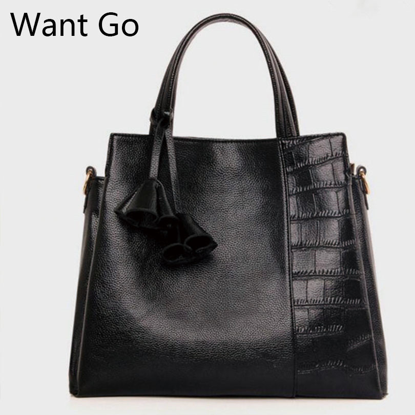 Want Go Fashion Office Lady Pu Leather Handbag High Quality Women Tote Bags Solid Color Female Messenger Bag Girls Shoulder Bags nesitu high quality black red brown split leather women handbag office work lady shoulder bag messenger bags female tote m0909