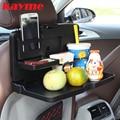 Kayme складной автомобиль заднее сиденье держатель для напитков пластиковые держатели стаканов для автоматического чашки питья еды лоток обеденный стол стоял автомобиль рабочий стол