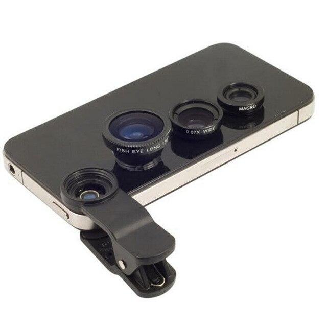 3 в 1 Рыбий глаз объектив для freetel самурая miyabi/raijin/Рей/катана 02 01 Fisheye Оптические стёкла