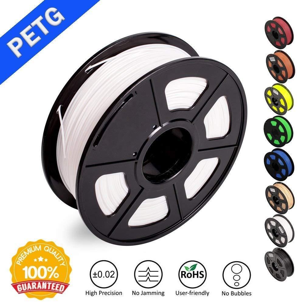 PETG 3D filament 1.75mm 1KG 2.2lb full color PETG 3D Printer Filament Dimensional Accuracy +/- 0.02 mm 1 kg Spool 1.75 mmPETG 3D filament 1.75mm 1KG 2.2lb full color PETG 3D Printer Filament Dimensional Accuracy +/- 0.02 mm 1 kg Spool 1.75 mm