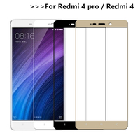 2 stücke 3D Gehärtetem Glas Für Xiaomi Redmi 4 Volle bildschirm Abdeckung Screen Protector Film Für Xiaomi Redmi 4 Pro prime