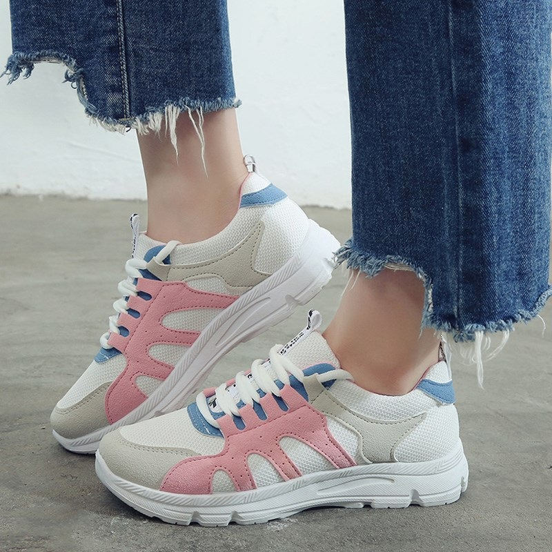 2018 Fashion Sneakers Women Casual Shoes Mesh Breathable women shoes Wedges Platform Shoes Woman Tenis Feminino Zapatos Mujer