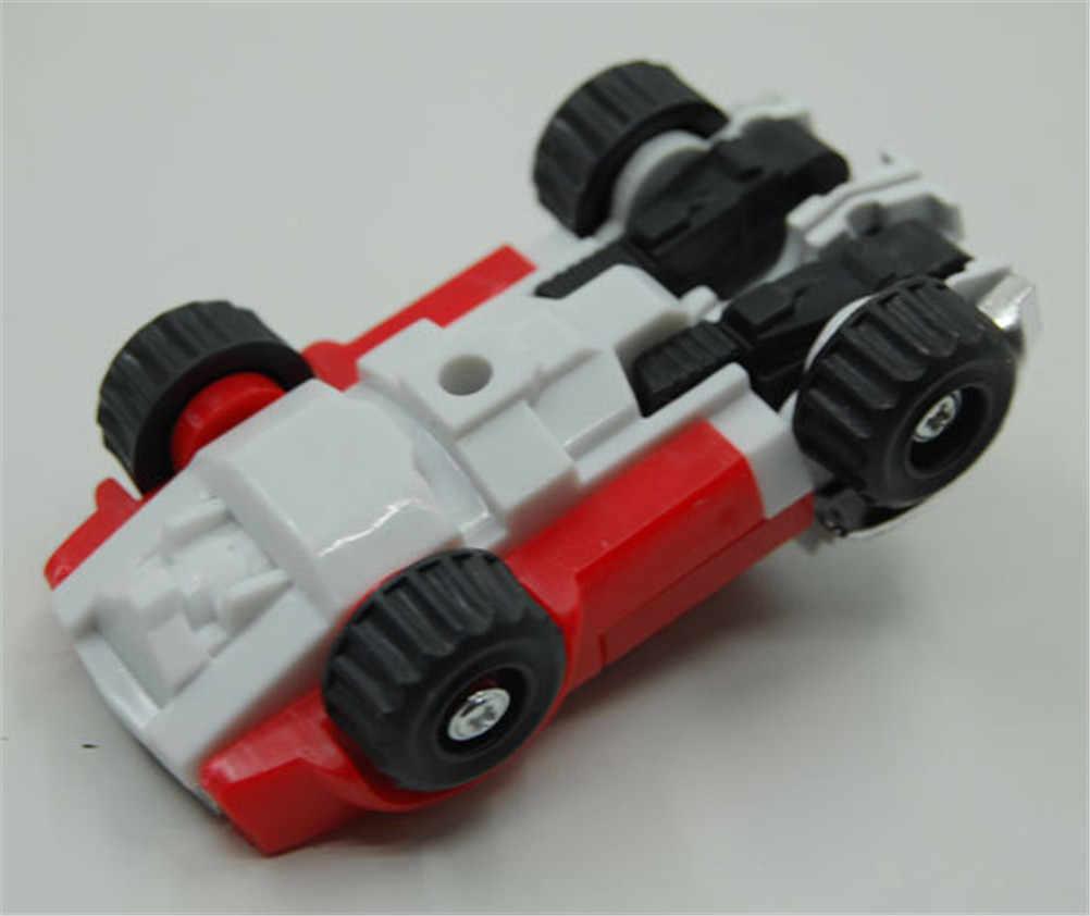 Panjang Kaki Mobil Mini Model Kartun Rusia Hadiah Terbaik untuk Koleksi Tunggal Penjualan Rusia Blaze Pick Zeng Racin Deformasi