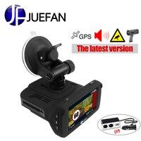 JUEFAN P 1296 P рекордер русская Автомобильная камера Инструмент Камера мульти функция Автомобильный dvr gps dvr Радар детектор ультра высокая скорос